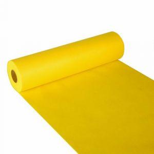 Bieżnik PAPSTAR Soft Selection, w rolce 24m/40cm żółty, włóknina