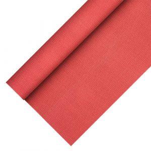 """Obrusy z włókniny, """"PAPSTAR soft selection plus"""", rozmiar 25m/1,18m kolor: czerwony"""
