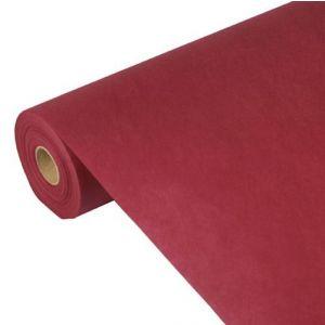 """Obrusy z włókniny, """"PAPSTAR soft selection plus"""", rozmiar 40m/0,9m kolor: bordowy"""