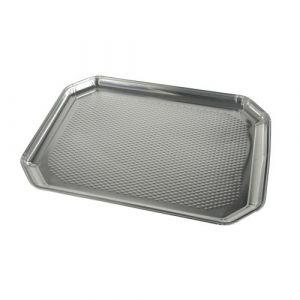 Taca aluminiowa prostokątna 35x26cm, cena za opakowanie 5szt