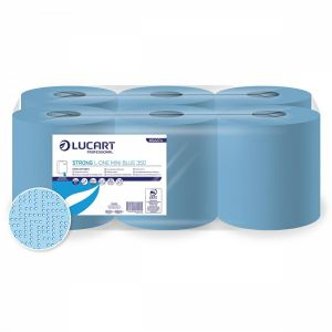 Ręcznik rola MIN Strong 350 Blue LUCART L-ONE, 122,5m, 2W, cena za opakowanie 6 rolek