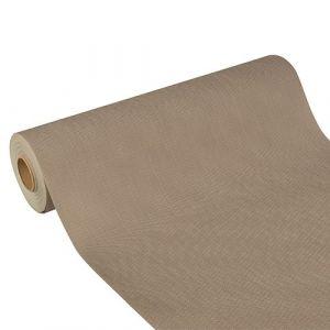 """Bieżnik imitujący tkaninę z włókniny, """"Soft Selection Plus"""" PAPSTAR szerokość 40cm długość 24metry kolor szary"""