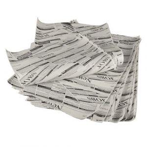 """Papier pakowy 5kg celuloza nadruk """"GAZETA"""" 25x35cm op. 1800 arkuszy"""