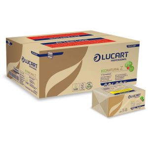 Ręcznik Z/Z Lucart Eco Natural 2 warstwy, 3960 listków