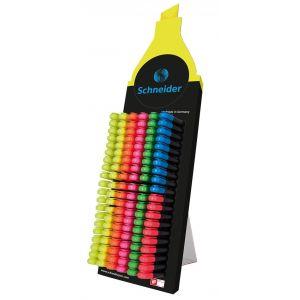 Display zakreślaczy SCHNEIDER Job, 1-5 mm, 150 szt., miks kolorów