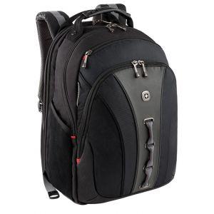"""Plecak WENGER Legacy, 16"""", 350x450x250mm, czarny/szary"""