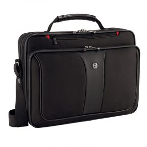 """Torba na laptopa WENGER Slim Legacy, 16"""", 400x300x120mm, czarna"""