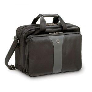 "Torba na laptopa WENGER Slim Legacy, 16"", 400x310x180mm, czarna/szara"