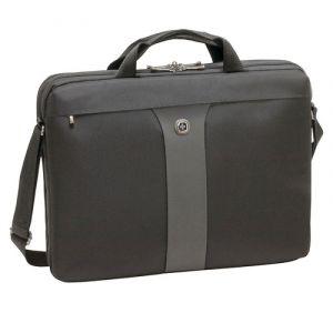 """Torba na laptopa WENGER Slim Legacy, 17"""", 440x340x80mm, czarna"""