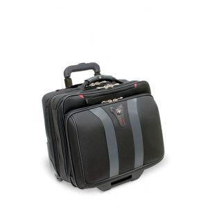 "Torba pilotka WENGER Granada, 17"", 420x350x250mm, czarna/szara"