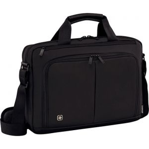 "Torba na laptopa WENGER Source, 16"", 410x280x120mm, czarna"