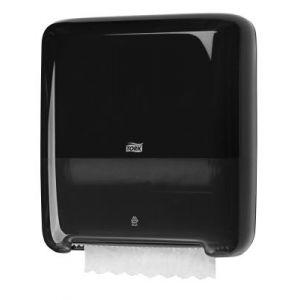 Dozownik Tork mini do ręczników wielopanelowych czarny H2