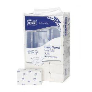 Ręcznik Tork Xpress Premium biały miękki H2 - 210x250,5cm - 3150 listków - Celuloza składanie Z