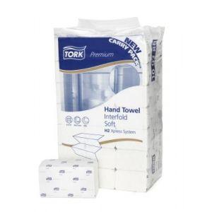 Ręcznik Tork Advaced biały, miękki (trzypanelowy)H2 - 210x250,5cm - 3780 listków-Celuloza/Makulatura