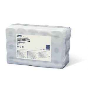 Papier toaletowy w rolkach Tork Advanced, biały T4 - 9,7x12,4cm - 49,6m - 400 listków - Makulatura