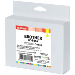 Tusz OP K Brother LC-985Y (do DCP-J125), yellow