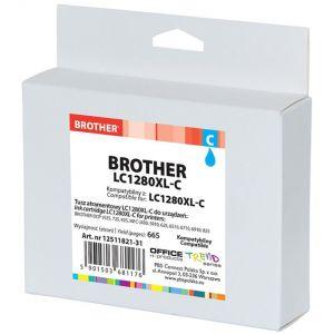 Tusz OP K Brother LC1280XL-C (do MFC-J5910DW), cyan