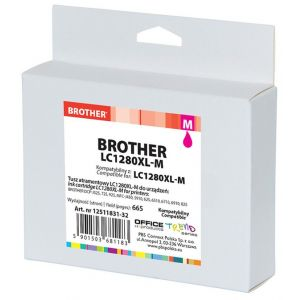 Tusz OP K Brother LC1280XL-M (do MFC-J5910DW), magenta