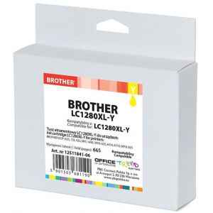 Tusz OP K Brother LC1280XL-Y (do MFC-J5910DW), yellow