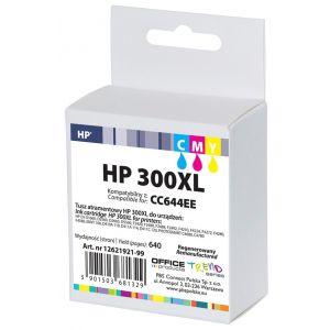 Tusz OP R HP CC644EE/HP 300XL (do D2560), cyan, magenta, yellow