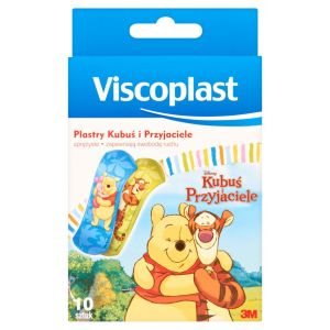 Plaster dla dzieci VISCOPLAST Kubuś i przyjaciele, 10szt.