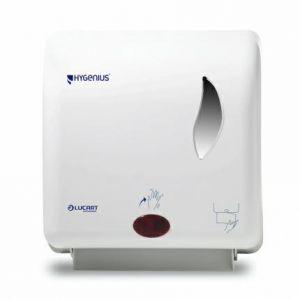 LUCART dozownik ręczników NO-TOUCH biały, Matic H1, automatyczny system dozowania