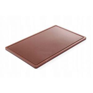Haccp cutting board - Gn 1/1 Brown