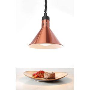 Lampa do podgrzewania potraw - wisząca kolor miedziany kod 273876