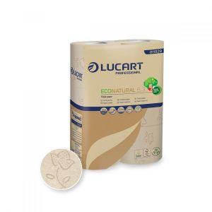 Papier toaletowy EcoNatural 6.3 LUCART 27,5m, 2W op. 6 rolek