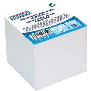 Kostka DONAU nieklejona, 83x83x75mm, biała