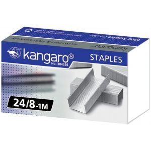 Zszywki KANGARO, No. 24/8-1M, 1000 szt.