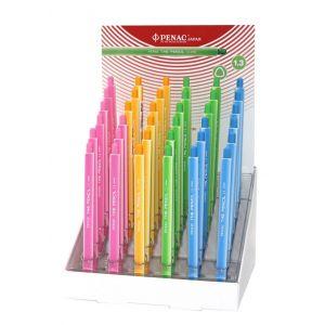 Display ołówek automatyczny PENAC The Pencil, 1,3mm, 36szt., mix kolorów