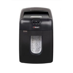 Niszczarka automatyczna REXEL Auto+ 130M EU, mikro ścinki, P-5,130 kart., 26l, karty kredytowe, czarna
