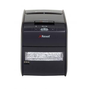 Niszczarka automatyczna REXEL Auto+ 60X, konfetti, P-3, 60 kart., 15l, karty kredytowe, czarna