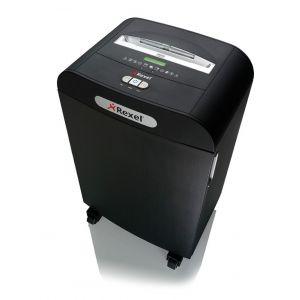 Niszczarka REXEL Mercury RDS2250, paski, P-2, 22 kart., 50l, karty kredytowe/CD, czarna