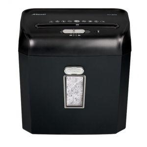Niszczarka REXEL Promax RPX612, konfetti, P-4, 6 kart., 12l, karty kredytowe, czarna