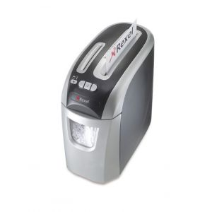 Niszczarka REXEL Prostyle+ 12, konfetti, P-4, 12 kart., 20l, karty kredytowe/CD, srebrno-czarna