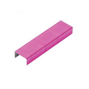 Zszywki REXEL Joy nr 56, 26/6, 2000szt., pretty pink