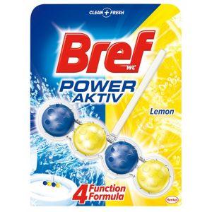 Kulki toaletowe BREF Power Aktiv Lemon, 50g