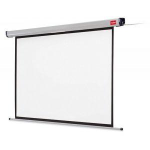 Ekran projekcyjny NOBO, ścienny, elektryczny, 4:3, 2400x1800mm, biały