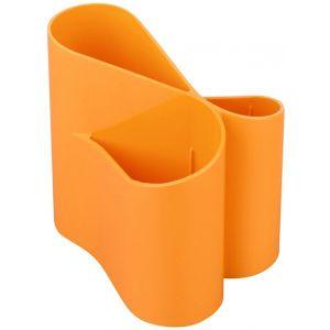 Przybornik na biurko ICO Lux, pomarańczowy