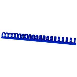 Grzbiety do bindowania OFFICE PRODUCTS, A4, 25mm (240 kartek), 50 szt., niebieskie