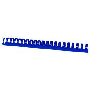 Grzbiety do bindowania OFFICE PRODUCTS, A4, 28,5mm (270 kartek), 50 szt., niebieskie