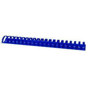 Grzbiety do bindowania OFFICE PRODUCTS, A4, 38mm (350 kartek), 50 szt., niebieskie