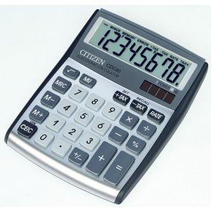 Kalkulator biurowy CITIZEN CDC-80WB, 8-cyfrowy, 135x105mm, szary