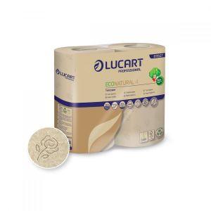 Papier toaletowy EcoNatural 4 LUCART 44m, 2W op. 4 rolki