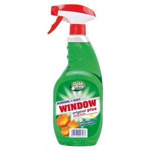 Płyn do mycia szyb i luster WINDOW PLUS zielony Spring flower 750ml z rozpylaczem
