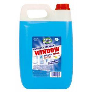 Płyn do mycia szyb i luster WINDOW PLUS alkohol + amoniak 5l