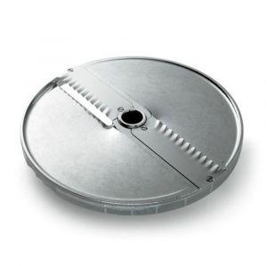 Tarcza do plastrów karbowanych 6 mm z 2 nożami prostymi - kod 1010408