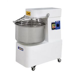 Spiral mixer with fixed bowl, 2 speeds - 32l - code 222874